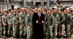 Donald Trump Thanksgiving 2019 in Afghanistan