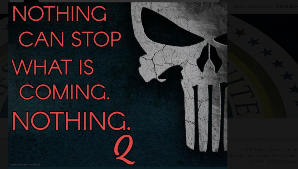 Nothing can stop wha tis coming meme QAnon
