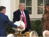 Trump begnadigt Truthahn 2019