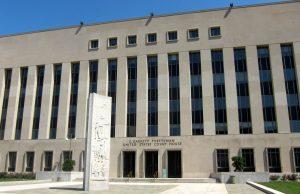 Das E. Barrett Prettyman United States Courthouse, der Sitz des FISC